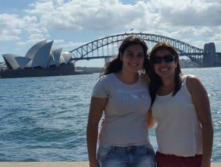 Natália Zoldan Marçal e Lidiane Aparecida Freitas - intercâmbio Austrália | Australian Centre