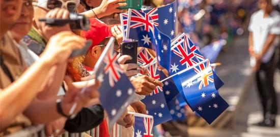 festas na Austrália