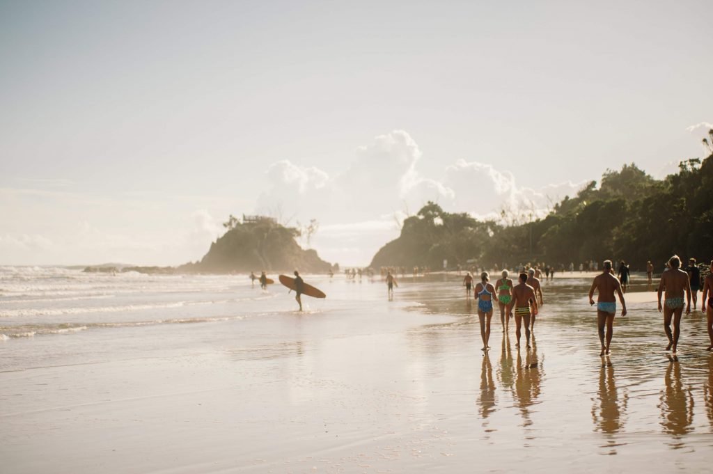 Os melhores destinos de surfe na Austrália