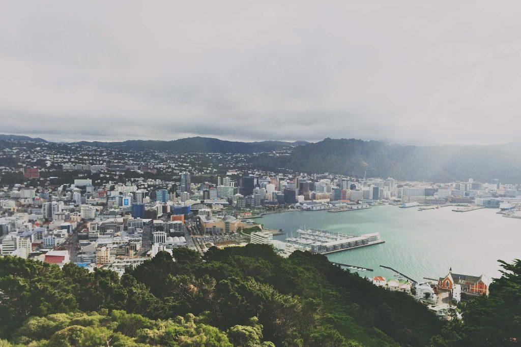 Intercâmbio em Wellington