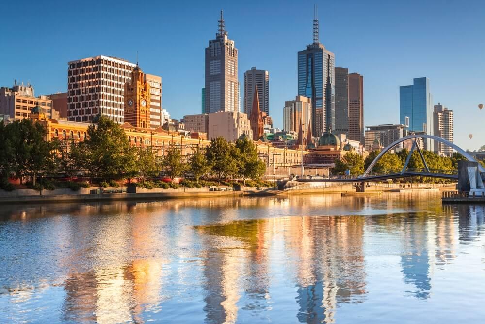 intercâmbio em Melbourne