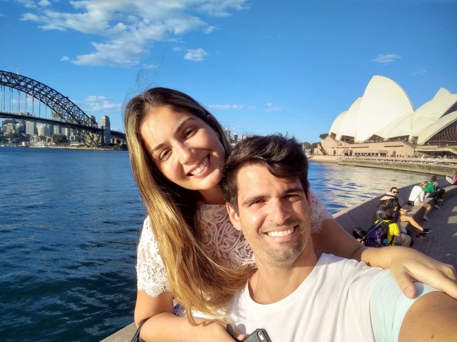 Laura Carvalho & Rodrigo Nemer - intercâmbio Austrália | Australian Centre